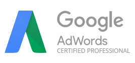 Certifikát Google AdWords Certified Professional