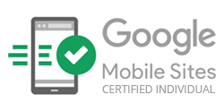Certifkát Google Mobile Sites